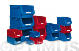 GAVETA APILABLE PLASTICO N 51 ROJO 170 X 100 X 80 MM
