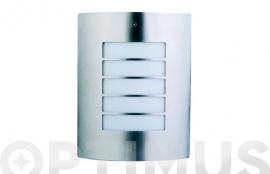 APLIQUE ACERO INOX SURREY 1X60W E-27