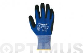 GUANTE NITRILO/PU T-TOUCH AGIL H4115 T.9