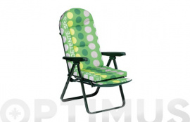 SILLON RELAX T.OVAL 40X20MM VERDE