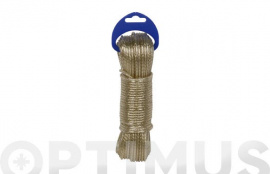 CABLE ACERO PLASTIFICADO 3,5MM 10 MT ORO