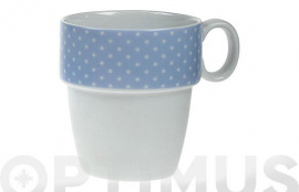 MUG APILABLE PORCELANA AMBIT F  MINI TOPOS