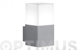 APLIQUE EXTERIOR LED 4W HUDSON GRIS ALUMINI