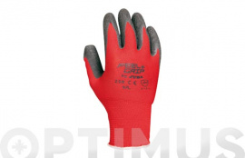 GUANTE FEEL AND GRIP ROJO T/7