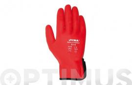 GUANTE NYLON/NITRILO AGILITY RED H5115/T8