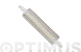 LAMPARA LINEAL LED 360º R7S 118MM 12W LUZ CALIDA