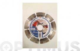 DISCO DIAMANTE STANDARD SEGMENTADO GENERAL OBRA 115 MM BETON 10
