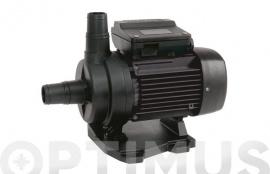 BOMBA DE PISCINA AUTOCEBANTE 0,37 kW  -  0,50 HP Q max: 12 M³ / h.