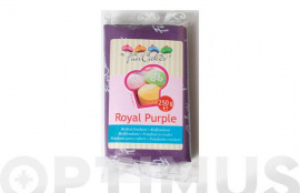 FONDANT COLOR 250GR FUNCAKES PURPURA REAL