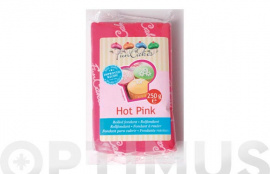 FONDANT COLOR 250GR FUNCAKES ROSA INTENSO