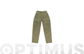 PANTALON LARGO BEIGE 50
