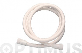 FLEXO DUCHA PVC REFORZADO 1,7 M BLANCO