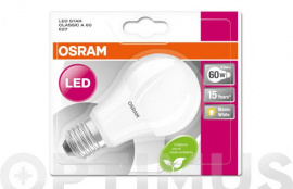 LAMPARA LED ESTANDAR 806LM E27 9,5W 2700K