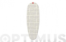 FUNDA MESA PLANCHAR ELASTIC 127X51 CM-RAYAS