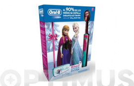 CEPILLO DENTAL INFANTIL ORAL-B FROZEN+ESTUCHE