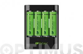 CARGADOR USB 4 PILAS AA-AAA INCL. 4XAA 2700MAH