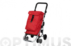 CARRO COMPRA 4R.GIR.GO UP ROJO