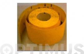 PAPEL VIBRATOR BC2 ROLLO 5 METROS 115 MM - GRANO 180