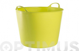 CUBO FLEXIBLE MULTIUSOS 42 LT  PISTACHO