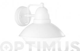 LAMPARA MURAL AMUR 1XE27 22X22,5X25CM-BLCO