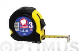 FLEXOMETRO BIMATERIAL STAR B 3X16 MM