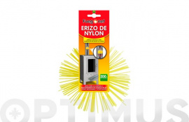 ERIZO RECAMBIO KIT DESHOLLINADOR NYLON 200MM