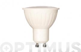 LAMPARA LED DICROICA 120º 400LM (5UNIDADES) GU10 5W FRIA