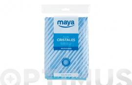 BAYETA MICROFIBRA ESPECIAL CRISTALES 40X40CM