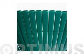 CAÑIZO SINTETICO PVC PLASTICANE OVAL  1 X 3 M VERDE