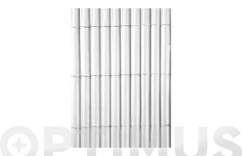 CAÑIZO SINTETICO PVC PLASTICANE OVAL  1 X 3 M BLANCO