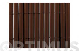 CAÑIZO SINTETICO PVC PLASTICANE OVAL  1,5 X 3 M CHOCOLATE
