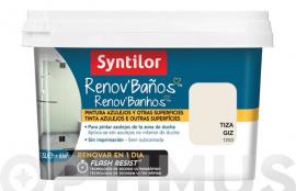 PINTURA BAÑO RENOV FLASH RESIST TIZA 500 ML