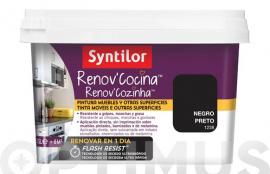 PINTURA COCINA RENOV FLASH RESIST NEGRO 500 ML