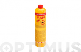 CARTUCHO GAS CON VALVULA 750 ML MAPP GAS  7/16""