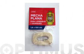 MECHA PLANAS PARA QUINQUES 1,6 CM