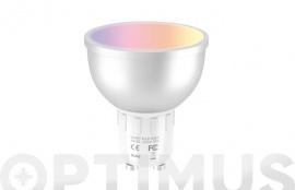 LAMPARA LED RGB COMPTAIBLE ASISTENTE VOZ GU10 5W SMART HOME