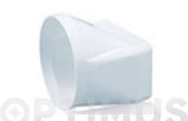 EMPALME MIXTO TUBO EXTRACCION PVC Ø120-150 X 75 MM