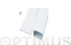 TUBO EXTRACCION PLEGABLE PVC RECTANGULAR 1M - 150X75MM