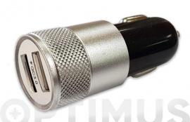 CARGADOR USB DOBLE CARGA RAPIDA