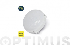 APLIQUE LED CIRCULAR 1080 LM IP65 12 W 4000K