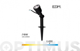 ESTACA LED IP64 400LM 38º LUZ BLANCA 6400K
