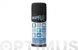 LIMPIADOR HIGIENIZANTE ALCOHOL ISOPROPILICO  400 ML SPRAY