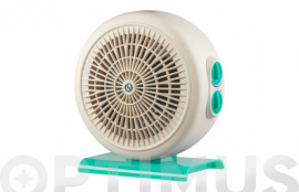 TERMOVENTILADOR CIRCLE 22 1000/2200W IP21 FUNCION ANTIHIELO