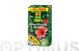 ABONO MACETAS Y JARDINERAS 250G + 50G GRATIS