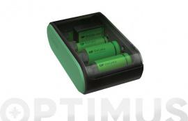 CARGADOR PILAS UNIVERSAL USB AA/AAA/C/D/9V