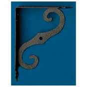 ESCUADRA ORNAMENTAL MODELO 2 250 X 190 MM NEGRO