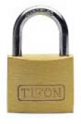 CANDADO LATON TIFON A/N 75000-50