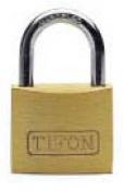 CANDADO LATON TIFON A/N 76000-60