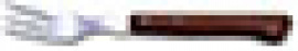 TENEDOR CHULET.M/MAD.ARCOS(BL) 3716-01 9CM