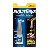 ADHESIVO SUPERCEYS PINCEL 5 GR